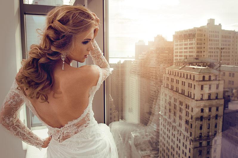 William James Hair & Skin Studio Bridal Styling
